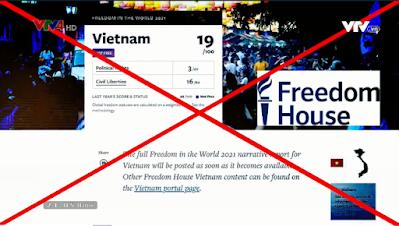 VIỆT NAM BÁC BỎ CÁO BUỘC CỦA FREEDOM HOUSE VỀ VẤN ĐỀ SỰ DỤNG INTERNET