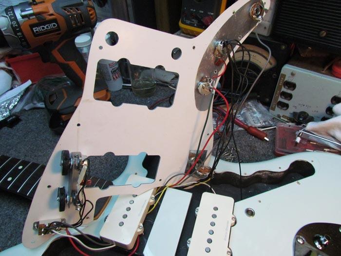 Active Pickup Wiring Diagrams Jaguar Squier Electrical Circuit