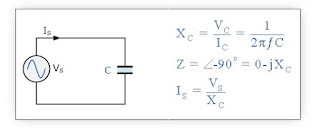 Purely capacitive circuit