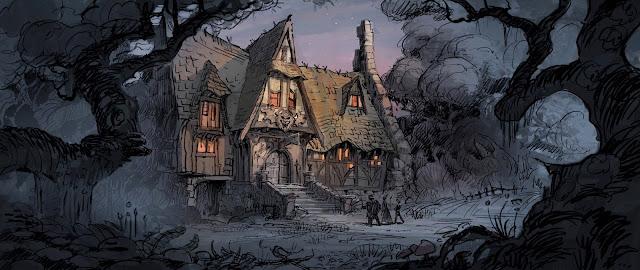 Manticore's Tavern artwork by Garrett Taylor