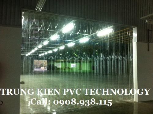 Màn nhựa PVC ngăn bụi Nhà máy IMG Việt Nam