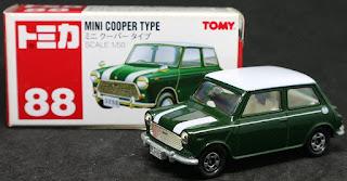 Tomica - 88 Mini Cooper , 紙盒裝