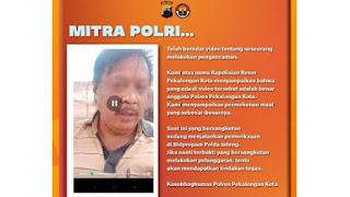 Polda Jateng: Polisi yang Ancam Babat Leher HRS Sedang Emosi Tinggi, Kita Lakukan Pembinaan