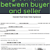 Agreement between buyer and seller of property