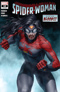 Cover of Spider-Woman #10 from Marvel Comics