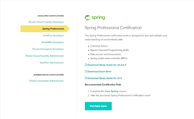How to Purchase Spring Certification Voucher online