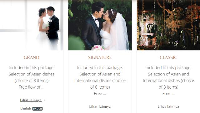 Pilihan paket hotel wedding Jakarta dari Aryaduta
