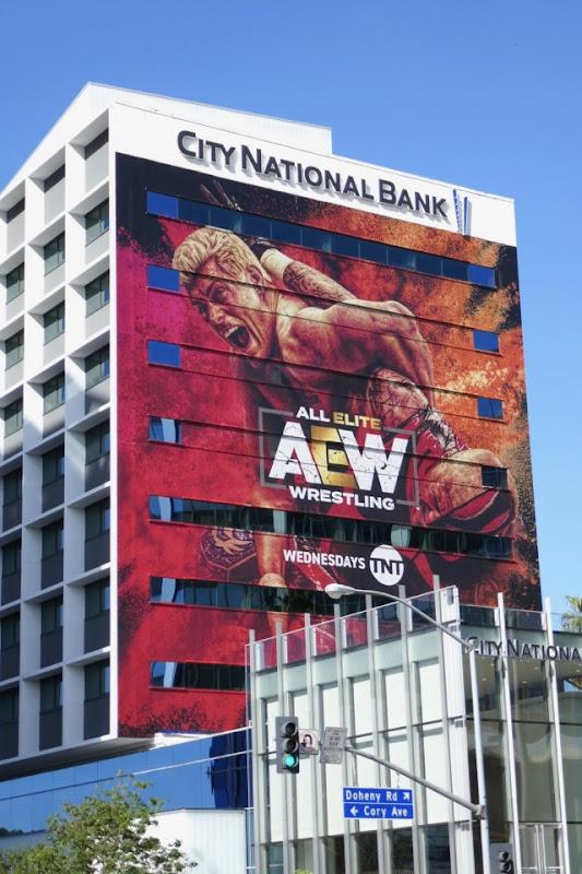 All Elite Wrestling AEW billboard