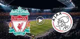 مشاهدة مباراة أياكس أمستردام وليفربول بث مباشر بتاريخ 21-10-2020 في دوري أبطال أوروبا