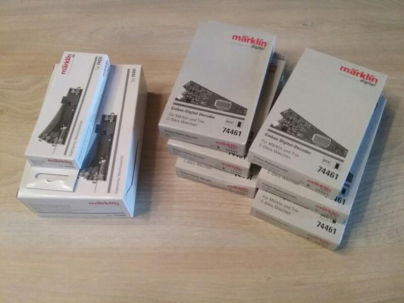 + Märklin 74461 Installation Décodeur pour C-Voie douce Nouveau dans neuf dans sa boîte