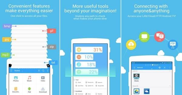 EX Explorer/File Manager Pro el Mejor Explorador de Archivos para Android