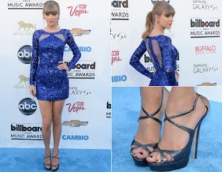 sapato pra usar com vestido azul