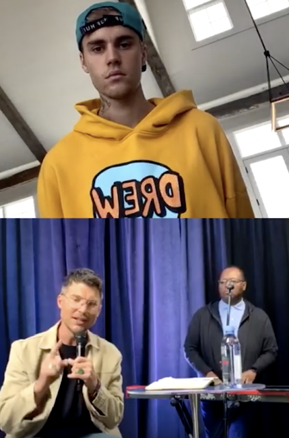 Justin Bieber hosts digital Sunday church service with Judah Smith on Instagram