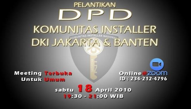 KOIN Lantik Pengurus DPD DKI Jakarta Dan Banten Secara Online