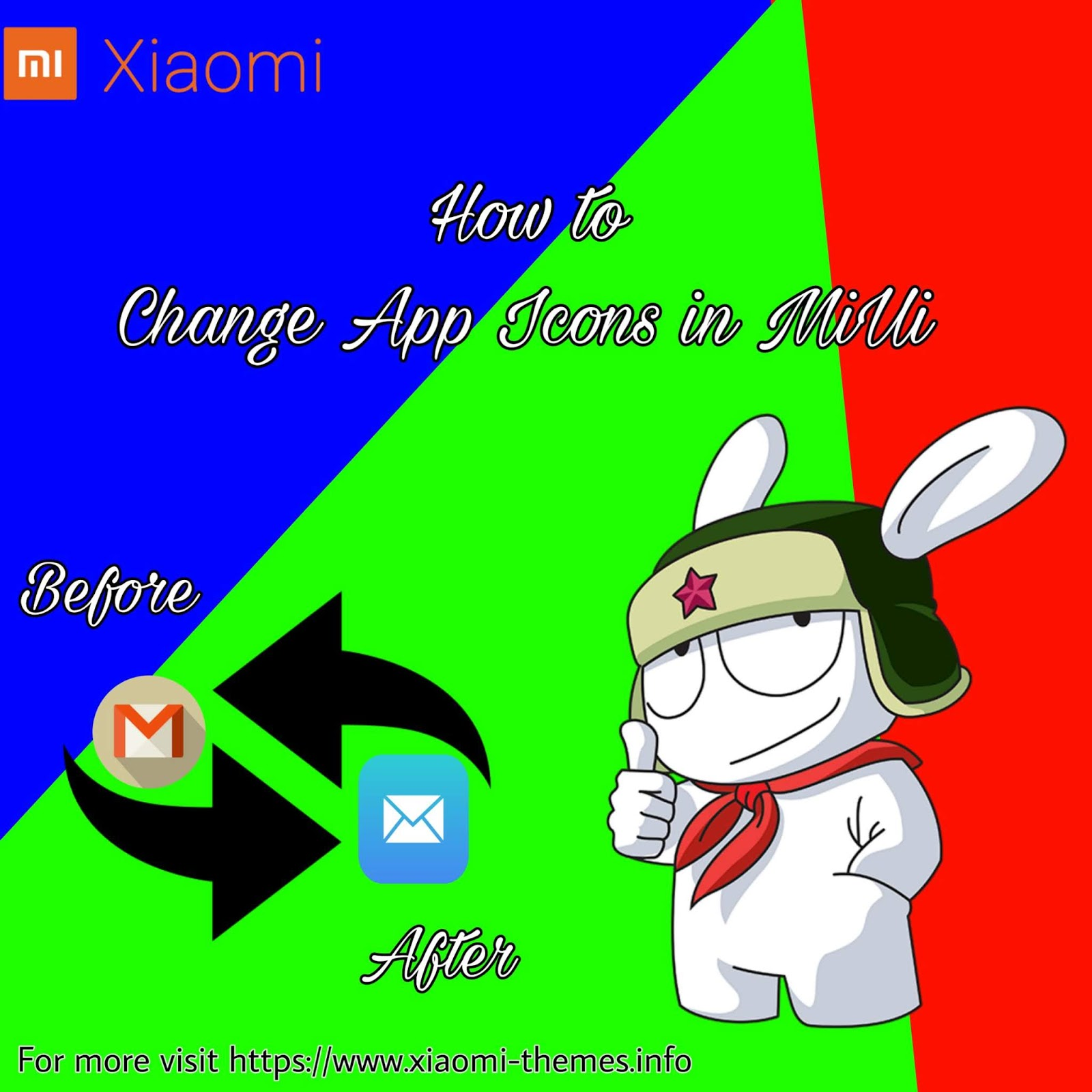 How to change App Icons in MiUi ||Xiaomi icons|| Redmi icons