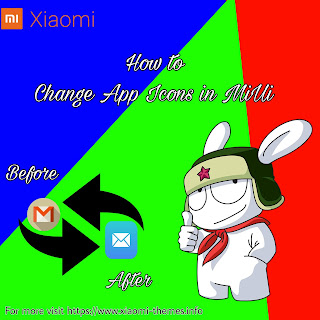 change Apps Icons in miui theme