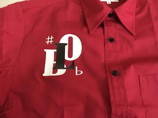 BLO/カラーシャツ/オリジナルプリント/たおるや