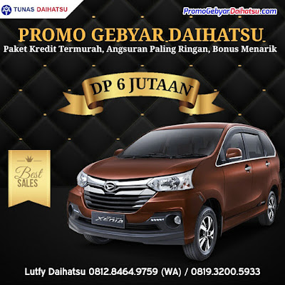 Promo Daihatsu Pekan Raya Bekasi 2017