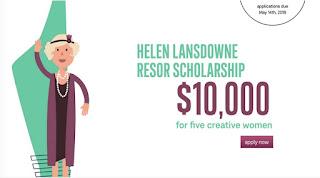 Helen Lansdowne Resor Scholarship 2018