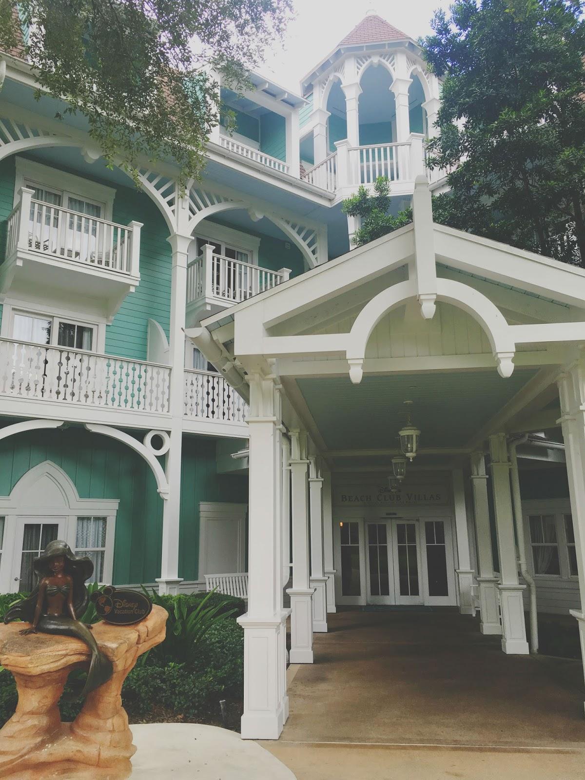 Beach Club Villas in Disney World, Florida