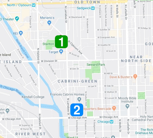 CWB Chicago: River North: Six shot in two incidents ...