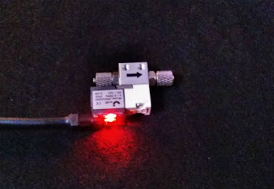 JARDLIの電磁弁は通電中にLEDが付く