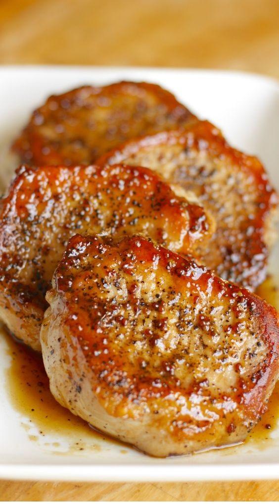 Apple Cider Pork Chops