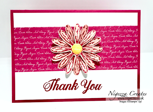 Nigezza Creates with Stampin' Up! & Daisy Delight for the March Colour Combo Blog Hop