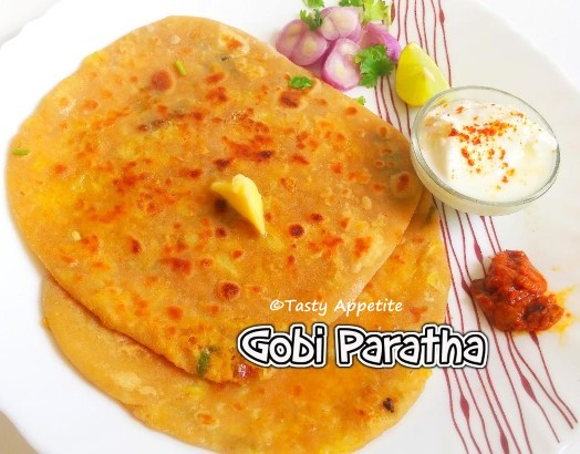 stuffed gobi paratha