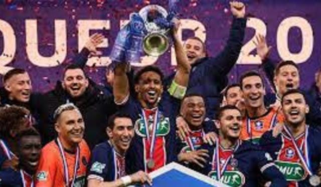 """""""باريس سان جرمان"""" يفوز على موناكو في نهائيات كأس فرنسا ويحرز اللقب للمرة 14"""