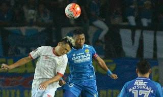 Hasil Pertandingan Persib Bandung vs Persiba Balikpapan 3-1
