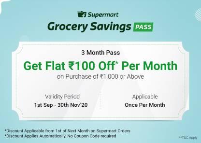 Flipkart Grocery Savings Pass Offer