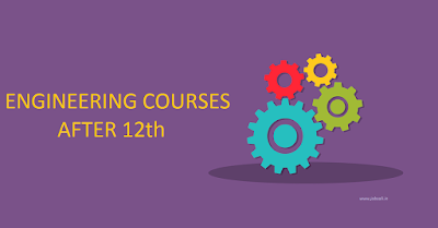 Engineering Courses, Courses after 12th Science