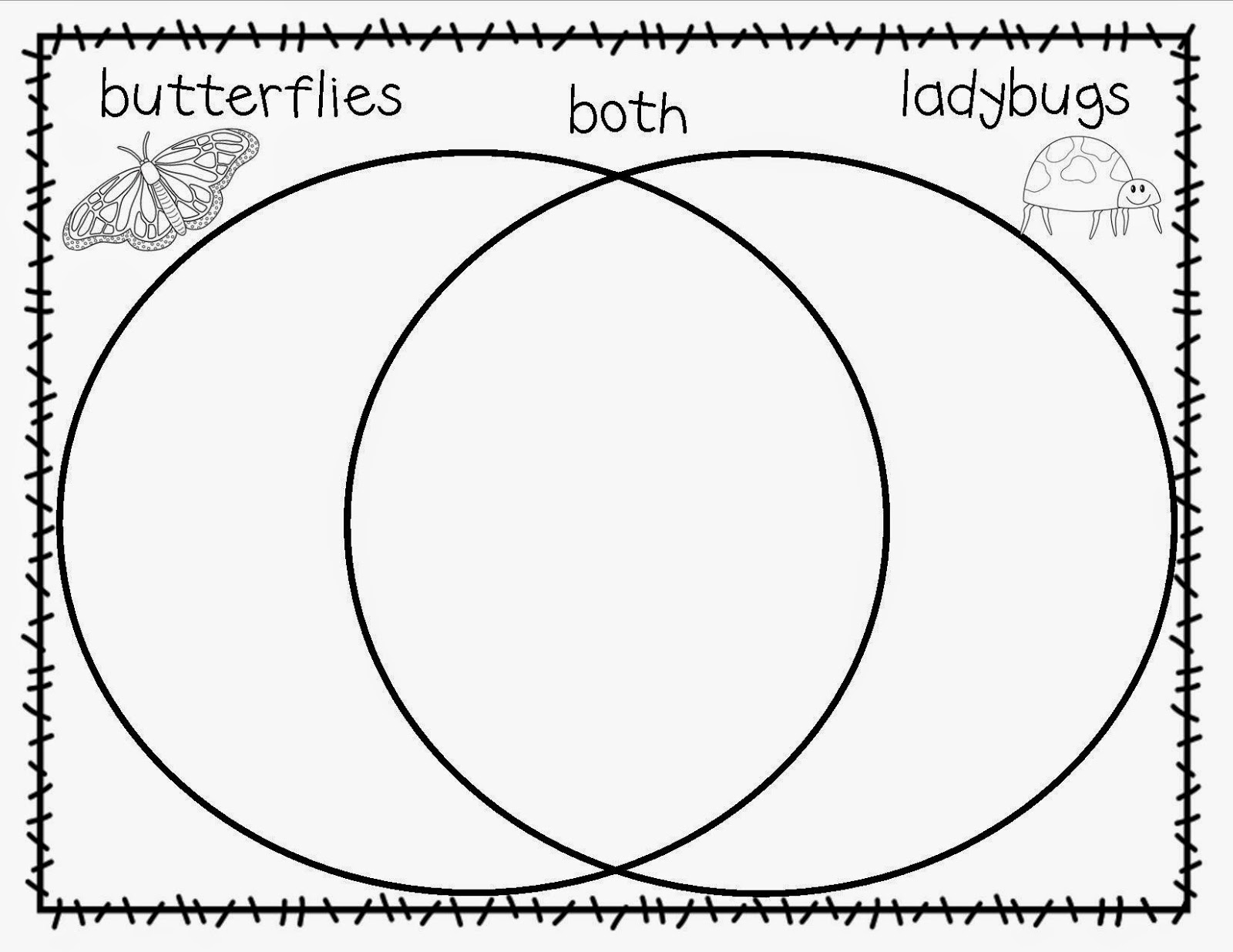 butterfly and caterpillar venn diagram