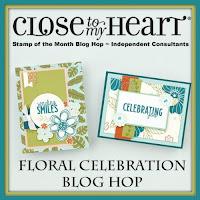 Floral Celebration Blog Hop Image / Badge