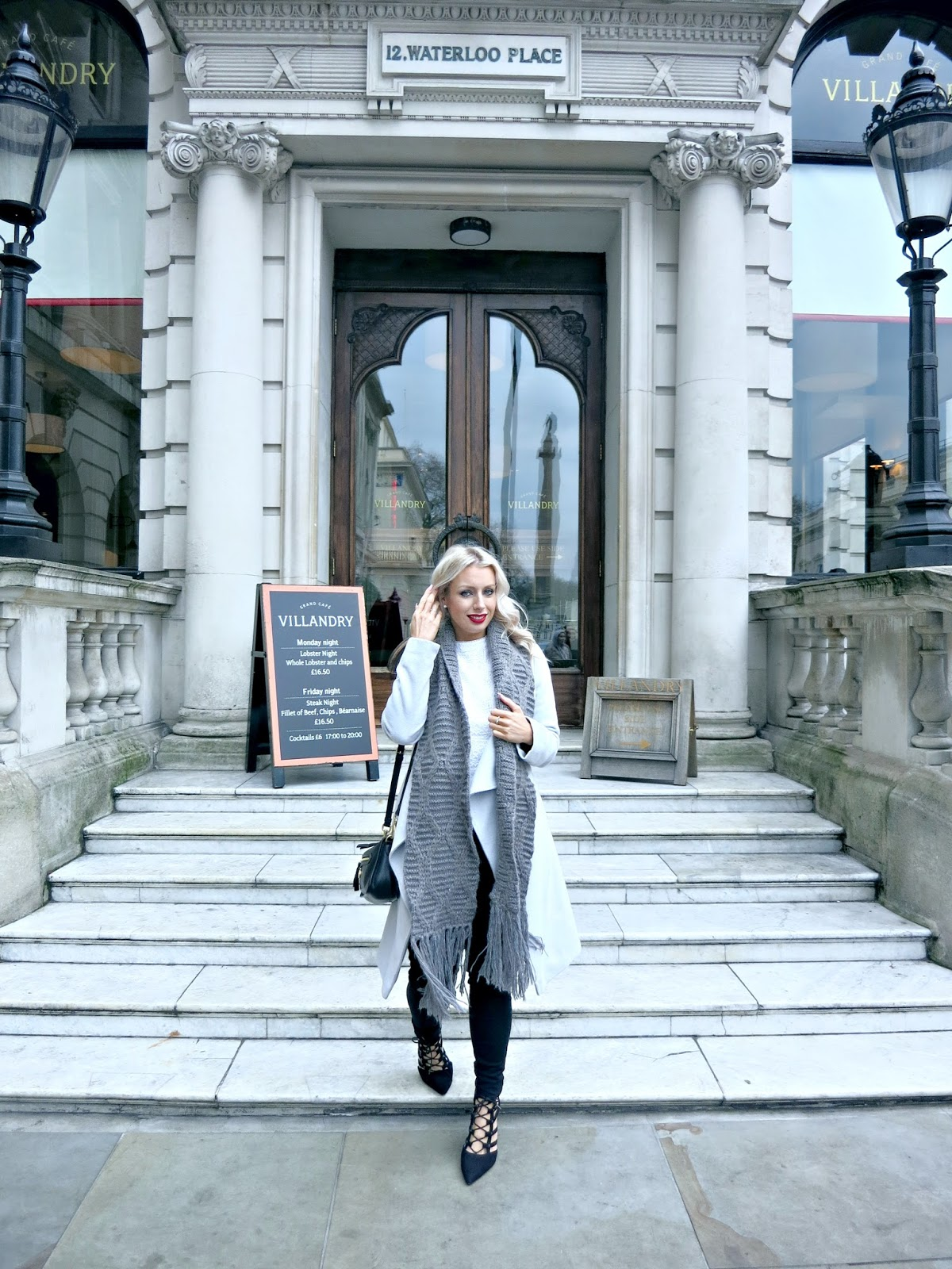 #OOTD champagne brunch, Villandry London, fashion blog