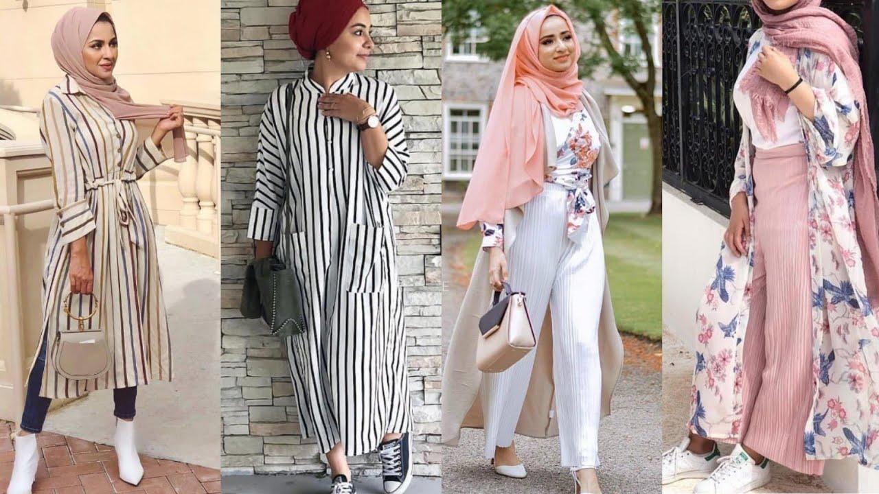 ملابس محجبات 2021 صيفي  fashionsta hijab