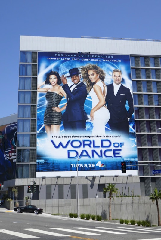 Giant World of Dance season 2 billboard