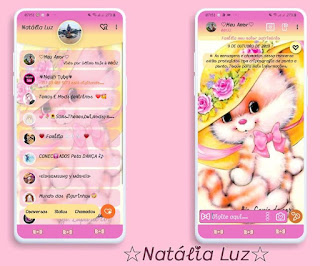 Cute Cat Theme For YOWhatsApp & Fouad WhatsApp By Natalia Luz