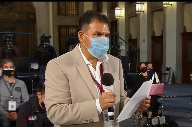 Vinculan a proceso penal al periodista Daniel Blancas por altercado en la mañanera