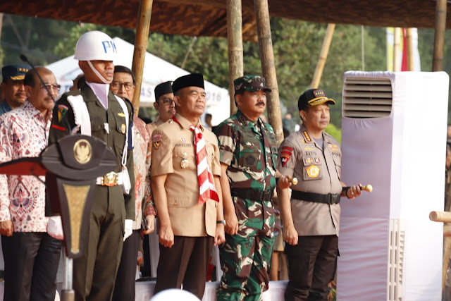 Panglima TNI Hadiri Apel Besar Hari Pramuka Ke-58 Tahun 2019