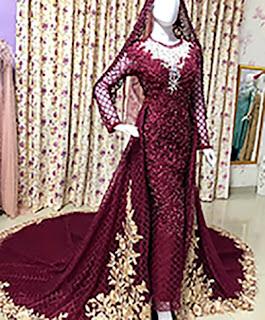 model kebaya pengantin terbaru