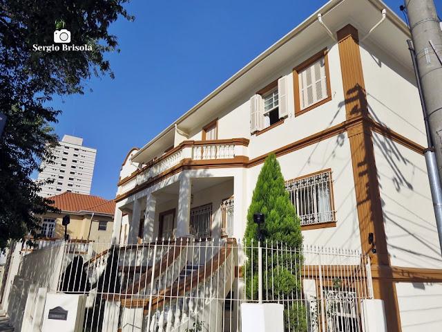 Vista do casarão da Casa Redentorista - Ipiranga - São Paulo