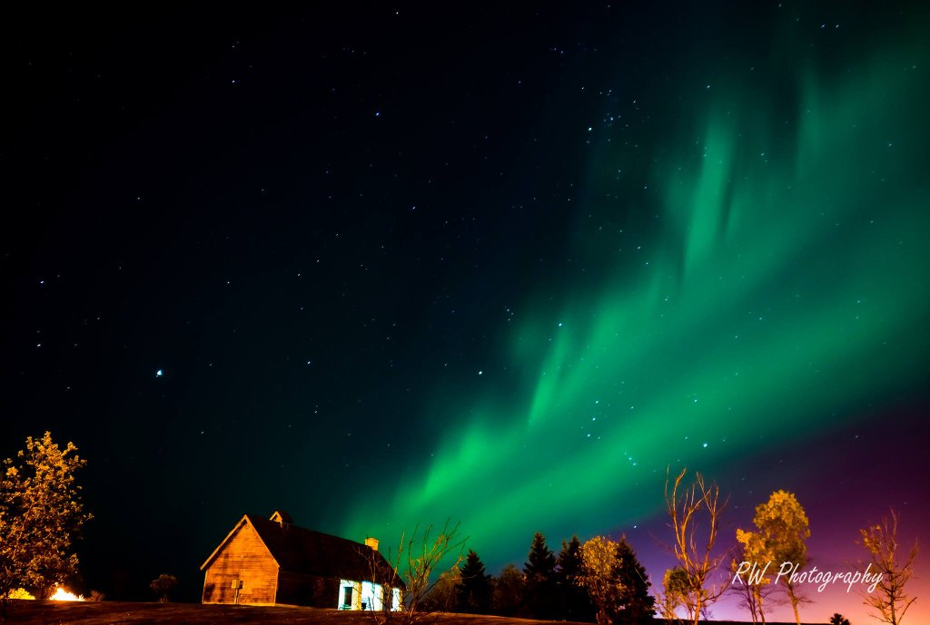 breathtaking photo of Northern Lights 2015