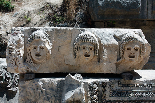 Masks, tombs and a theater: discovering ancient Myra