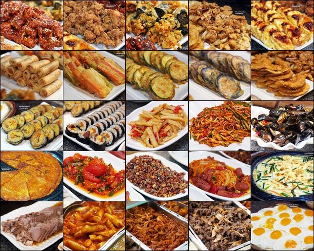 An Assortment Of Korean Cuisines