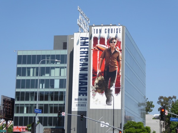 Giant American Made billboard