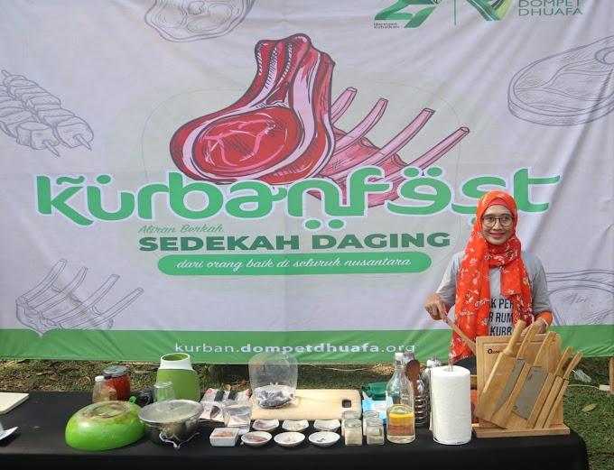 Kegiatan Kurbanfest di Zona Madina Dompet Dhuafa