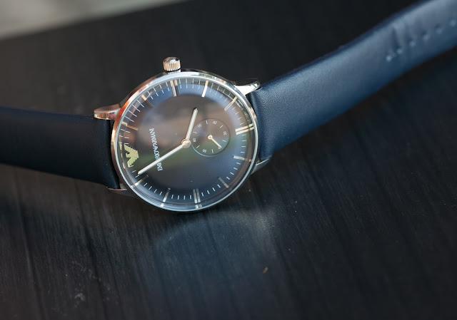Đồng hồ đeo tay nam dây da Armani bán chạy nhất 2016 tại cầu giấy
