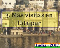 Viaje al norte de India - Udaipur